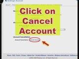 MySpace Help and MySpace Guide: Delete Account Tutorial