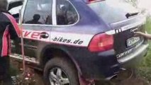 Rally Trial Germany / GORM: Porsche Cayenne Rally Raid