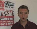 Olivier Besancenot soutient la liste LCR PSL en Belgique