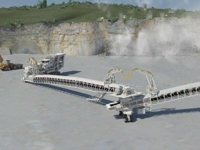 Simulation technique en images de synthèse Metso Lokolink