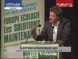 EVENEMENT,Meeting des Verts pour les éléctions européennes : Mamère/Cohn Bendit