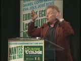 Daniel Cohn-Bendit au meeting Europe écologie de Nantes