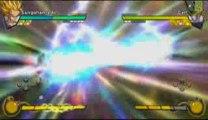 dbz burst limit mode story-gohan saiyen 2 VS cell parfait