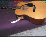 transformer sa guitare sèche en acoustique