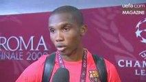 UEFA Champions League 2009 Finale Barca - MU Samuel Etoo