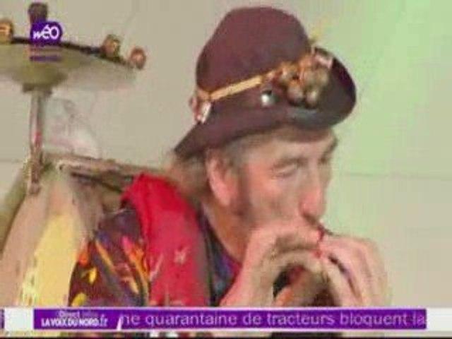 ZIGMUS Homme Orchestre sur WEO TV