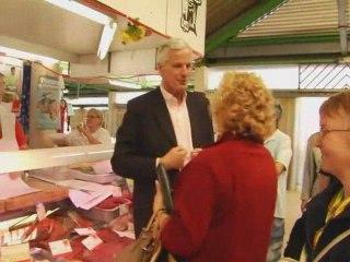 Déplacement sur les marchés de l'Essonne