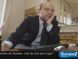 """Juppé : """"Parlons de l'Europe, c'est de cela qu'il s'agit !"""""""