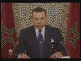 SM Mohamed 6 Roi du Maroc :discours à la Nation