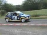 sortie de la RS GT turbo rallye de st geniez d'olt 2009