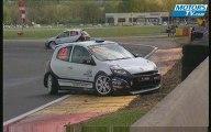 Accident Tribu Clio Cup 2009 Nogaro