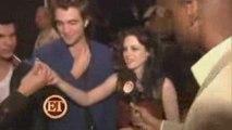 Twilight cast MTV awards backstage