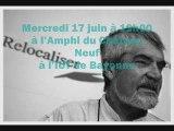 Conférence sur la Décroissance - Serge Latouche