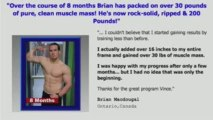 Gaining Lean Muscle Mass Naturally