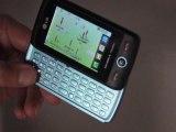 Présentation du smartphone LG GW520 avec clavier Azerty