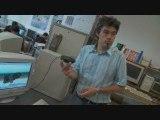 Reportage Robot durée 5min, chaine universitaire, Poitiers