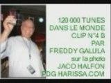 CLIP N°4 B...120 000 TUNES DANS LE MONDE FREDDY GALULA