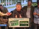 Daniel Cohn Bendit triomphant [news] Fr2 070609 EU09