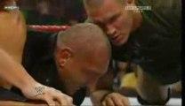 Raw 08/06/09 Legacy destroys Batista