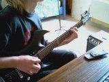Iron Maiden Powerslave guitar cover
