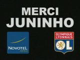 Olympique Lyonnais :  Hommage Juninho