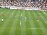 Premier but d'André Pauleta sous les couleurs du PSG...