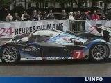 24H du Mans : Peugeot et Patrick Dempsey , stars du jour!