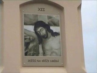 NEW COLUMN OF THE CRUCIFIXION - BOHUSLAVICE