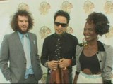 The Noisettes at the Isle of Wight Festival