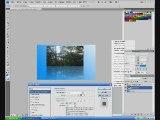 Tutoriel Photoshop #3 Effet reflet image et texte