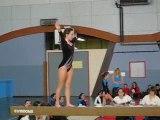 Gymnastique , poutre. Marina.