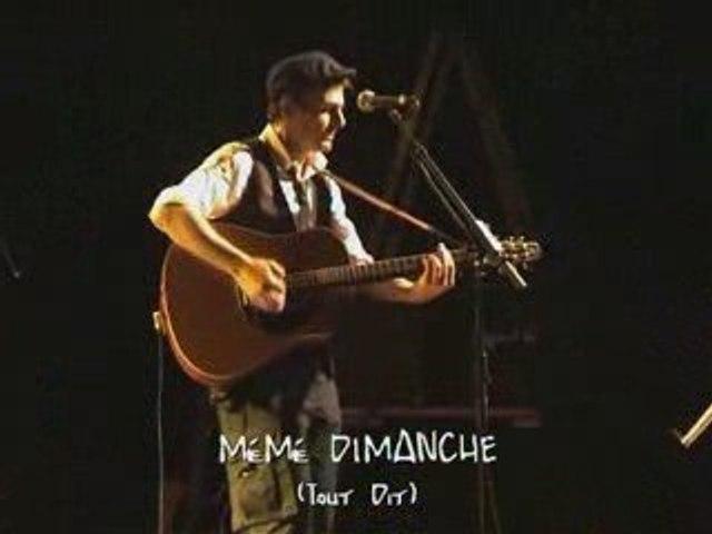 TOUT DIT par MéMé DIMANCHE (Live)