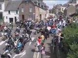 balade du coeur 2009 : départ pour le Mont-Saint-Michel