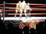 wwe raw nimes  triple h vs randy orton maint event
