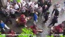 Doudou 2009 - l'arrivée des acteurs après le combat