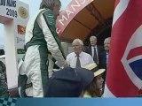 Le Team Aston Martin  N°87 : 24 heures du Mans – Parade