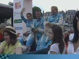 Le Team Aston Martin  N°66 : 24 heures du Mans – Parade