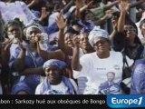 Sarkozy hué aux obsèques d'Omar Bongo