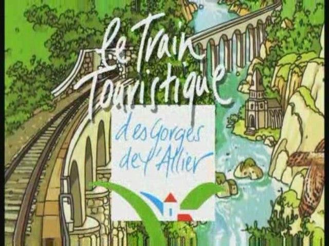 LE TRAIN TOURISTIQUE DES GORGES DE L'ALLIER