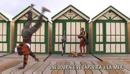 Une journée capoeira à la mer