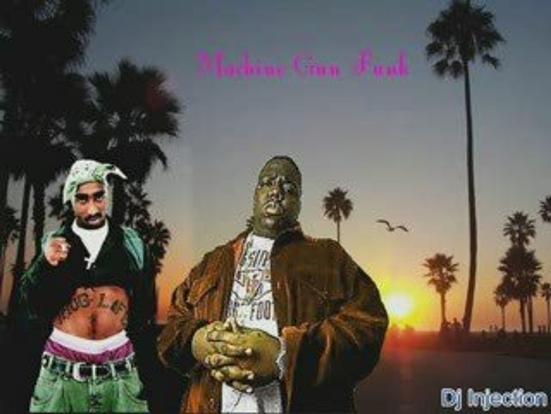 Notorious Big ft 2pac & Babyface - Machine Gun Funk Rmx 2009