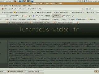 Visionnez les Cours Vidéo de Adapter la largeur d'un site � la r�solution de l'�cran
