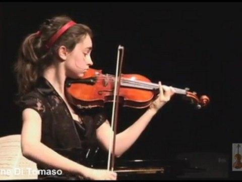 FMCBR 2009 gala - Marianne Di Tomaso - Violon