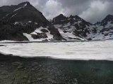 Le lac Nègre au dégel