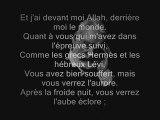 Victor HUGO chante le Prophete de l'islam