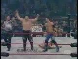 TNA Samoa Joe & AJ styles vs Foley, Sting, Jarrett & Angle 2