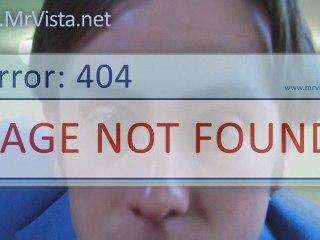 Mr Vista and the 404 error