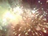 Feux  d'artifices de la St Jean Oinville. 20 Juin 2009