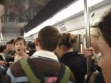 Chanteurs Classique dans le métro
