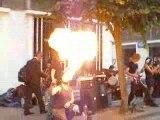 séance feu à la fête de la musique 2009 à compiègne